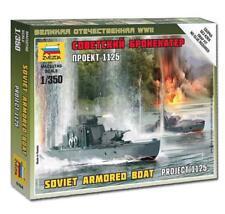 Zvezda #6164Soviet Armored Boat Project 1125  1/350