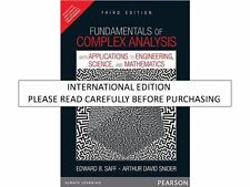 Fundamentals of Complex Analysis with Applications to Engineering, Science, a...