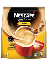 *OFFER!*NESCAFE BLEND & BREW MILD 3 IN 1 COFFEE INSTANT (25 X 19g) FREE SHIPPING