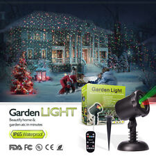 Stary Moving LED Lights Laser Projector Landscape Lamp Christmas Outdoor Garden