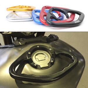 Motorcycle CNC Passenger Hand Grip Tank Handlebar Grab For Honda 5 Hole Models