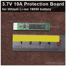 1S 10A Li-ion Lipo Lithium Battery 18650 Charger Protection Board 3.7V 4.2V Cell