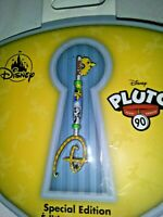 Disney Store PLUTO KEY PIN 90th ANNIVERSARY Limited Edition - Mint Unopened