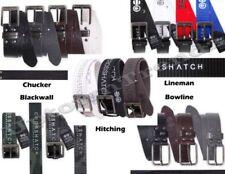 Cinturones de hombre Crosshatch de poliéster