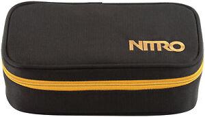 Nitro Unisex Federmäppchen Pencil Case Xl (Golden Black)