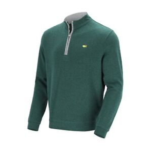 Masters Collection Cotton Blend 1/4 Zip Pullover Men's LARGE