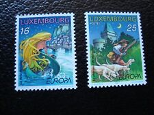 LUXEMBOURG - timbre yvert/tellier n° 1368 1369 neuf sans gomme (COL3)