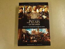 4-DISC DVD BOX / THE PILLARS OF THE EARTH ( KEN FOLLETT )