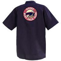 Dodge Scat Pack Club - Mechanics Graphic Work Shirt  Short Sleeve