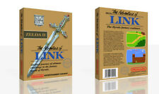 Zelda II: The Adventure of Link NES Spare Game Case Box + Cover Art (No Game)