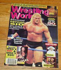 1996 Wrestling World Magazine Hulk Hogan Undertaker Psycho Sid WWE NWA WCW WWF