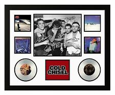 COLD CHISEL JIMMY BARNES SIGNED LIMITED EDITION FRAMED MEMORABILIA