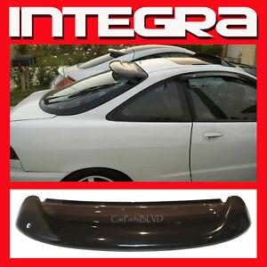 Fits 1994-2001 Integra 2 Door Rear Roof Window Visor Spoiler Wing with Brackets