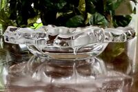 Lalique Capucines Centerpiece Bowl in Mint Condition Signed Guaranteed Authentic