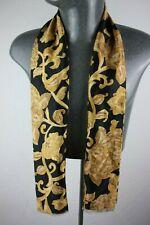 Vintage Silk Style Scarf mod dandy retro mens womens cravat foulard *1010