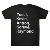 When They See Us Yusef Kevin Antron Korey & Raymond Men's T Shirt Cotton Tee