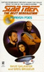 Star Trek TNG Foreign Foes by D Galanter and G Brodeur (1994 Paperback) Book #31