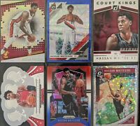 Lot of (6) Hassan Whiteside, Including Revolution/Optic/Prizm parallels & more
