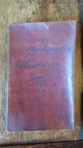 1810 ORIGINAL ANTIQUE MANUSCRIPT VALUATION BOOK MAIDS MORETON MANOR ESTATE