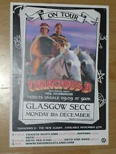 Tenacious D + Neil Hamburger - Glasgow dec.2006 tour concert gig poster