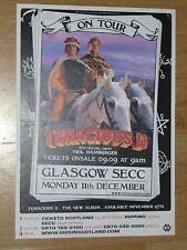 Tenacious D + Neil Hamburger - Glasgow dec.2006 tour concert gig poster
