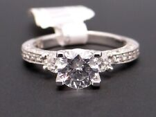 Tacori Platinum Round Cut Diamond Engagement Ring HT2259