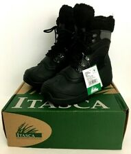 ITASCA Women's Winter SLEIGH BELL Boots Black Cold Weather NEW Sz 9