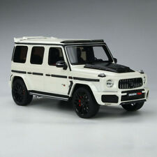 GT Spirit 1:18 Mercedes-Benz G63 BRABUS 700 WIDESTAR 4HD Resin Car Model White