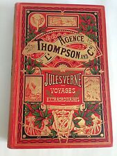 VERNE L'Agence Thompson and Co EDITION ORIGINALE (titre dans l'éventail) 1908