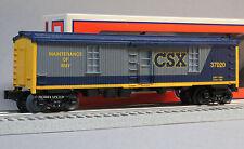 LIONEL CSX LIGHTED TOOL CAR MOW o gauge freight 30138 maintenance 6-37020 NEW