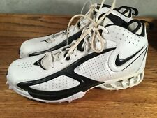 Nike Zoom Air Football Turf Cleats Spikes Excellent Used Cond dryfit Size 13