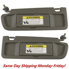 Sun Visor Dark Gray Atlas Pair For 2006-2008 Honda Civic Left & Right Visor Set