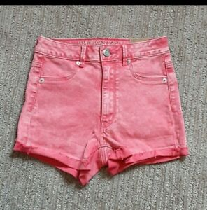 *NEW WITH TAGS*American Eagle Sky High Shortie Shorts Stretch Size 2