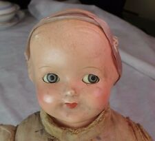 Effanbee Baby Dainty With Googly Eyes Cry Baby Doll Composition & Cloth