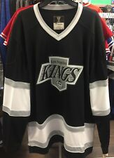 Los Angeles Kings Fanatics Branded Retro Vintage Blank Hockey Jersey NHL Large