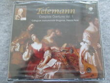 Telemann Complete Overtures 1 - Patrick Peire - 3 CD Neu & OVP NEW & Sealed