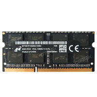 Micron 8GB 16GB 32GB 2Rx8 PC3L-12800S DDR3 1600 204 Pin SODIMM 1.35V Memory CL11
