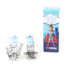 PEUGEOT 205 55 W Tint Xenon Hid Haute Faisceau Principal Ampoules Phare Paire
