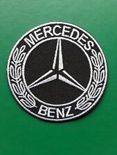 MERCEDES BENZ GERMAN CAR MOTORSPORT RALLY CLASSIC EMBROIDERED PATCH UK SELLER
