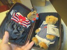 "Boyds Mohair Bear #900209 Kelsey M Jodibear & Arby T Tugalong Case (8"")"