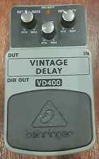 Behringer VD400 Vintage Analog Delay Guitar Effect Pedal