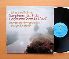Brahms Symphony no. 3 Bamberg Symphony Keilberth Telefunken NT 846 Stereo NM/EX