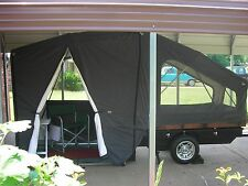 Motorcycle and Small Car Tent Camper Trailer