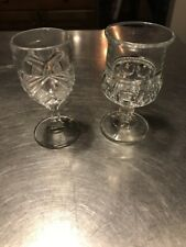 King And Queen Limoncello Glasses