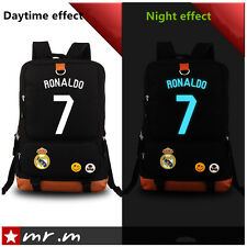 Cristiano Ronaldo bag computer bag men bag backpack hip-hop  Luminous Schoolbags
