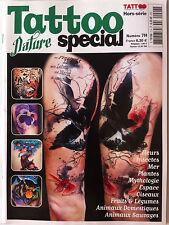 TATTOO Spécial n° 7; Fleurs, insectes, mer, plantes, mythologie, espace, oiseaux