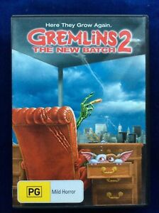 Gremlins 2 : The New Batch - Region 4 DVD - Great Condition - FREE POST