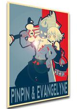 Poster Propaganda - MA0269 Wakfu - Tristepin Pinpin & Evangelyne