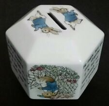 Peter Rabbit Wedgwood Money Box