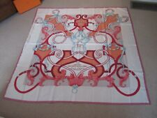 NWOT Hermes Stole Scarf Shawl L'Instruction du Roy Silk Carre Geant 140 Auth BOX